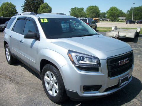 2013 GMC Acadia for sale at USED CAR FACTORY in Janesville WI