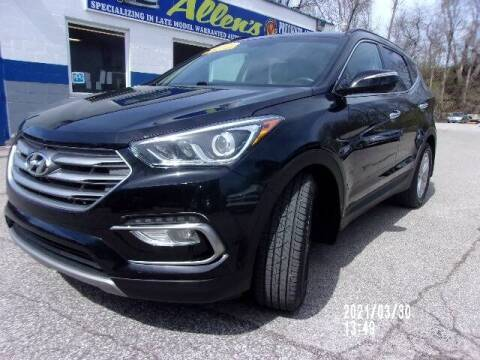 2018 Hyundai Santa Fe Sport for sale at Allen's Pre-Owned Autos in Pennsboro WV