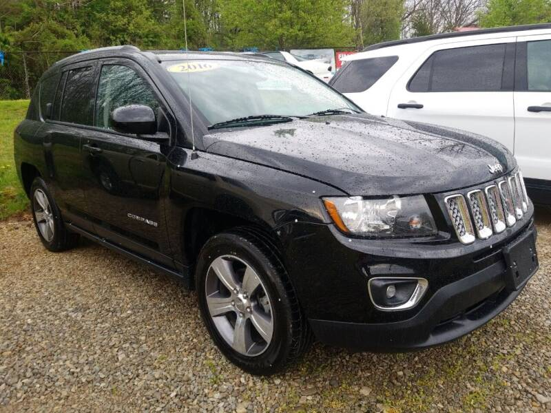 2016 Jeep Compass for sale at W V Auto & Powersports Sales in Cross Lanes WV