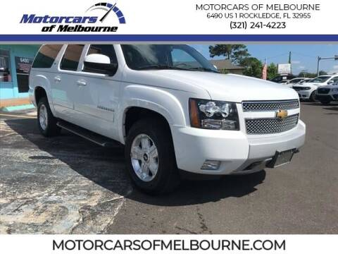 2013 Chevrolet Suburban for sale at Motorcars of Melbourne in Rockledge FL