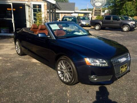 2010 Audi A5 for sale at Bladecki Auto in Belmont NH