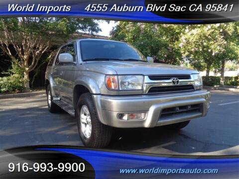 2001 Toyota 4Runner for sale at World Imports in Sacramento CA