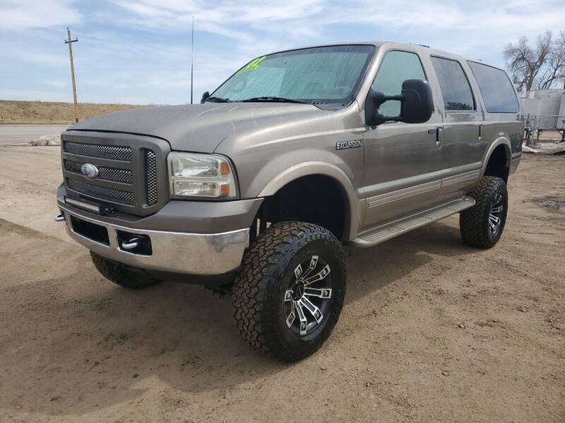 2002 Ford Excursion for sale at HORSEPOWER AUTO BROKERS in Fort Collins CO