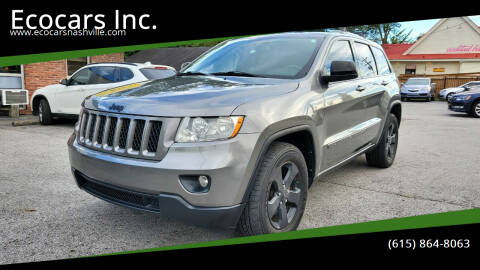 2012 Jeep Grand Cherokee for sale at Ecocars Inc. in Nashville TN
