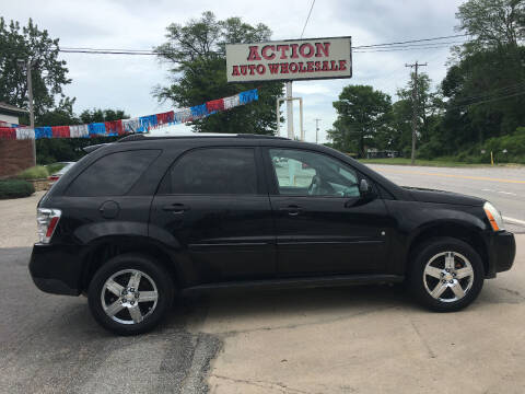 2007 Chevrolet Equinox for sale at Action Auto Wholesale in Painesville OH