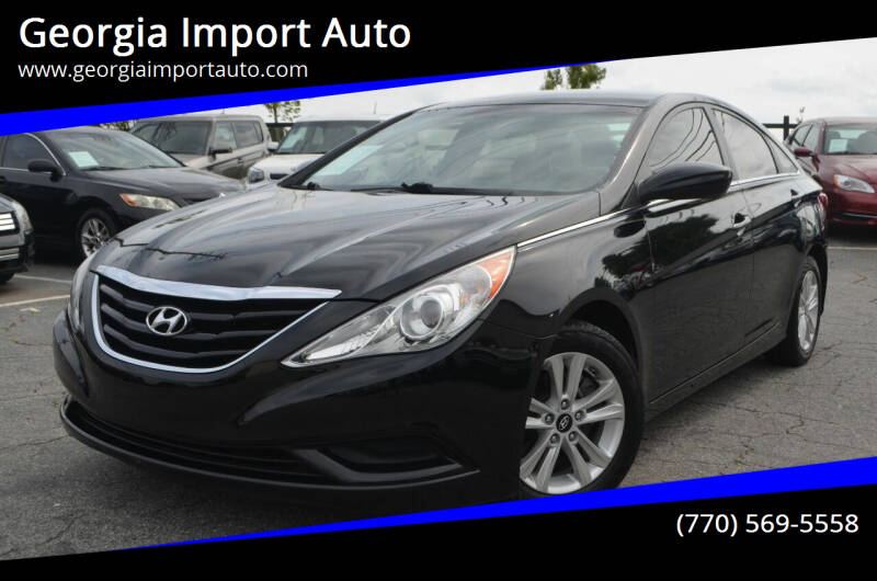 2011 Hyundai Sonata for sale at Georgia Import Auto in Alpharetta GA