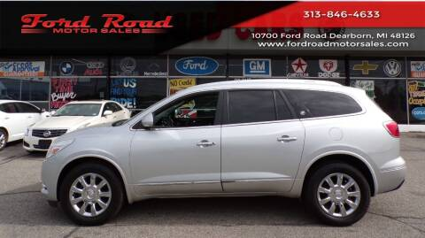 2013 Buick Enclave for sale at Ford Road Motor Sales in Dearborn MI