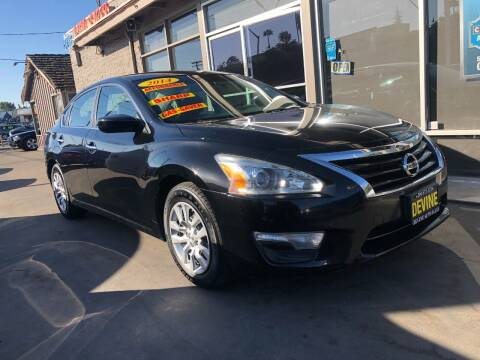 2014 Nissan Altima for sale at Devine Auto Sales in Modesto CA