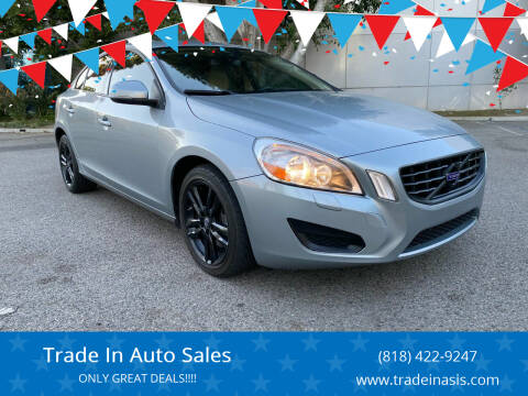 2013 Volvo S60 for sale at Trade In Auto Sales in Van Nuys CA