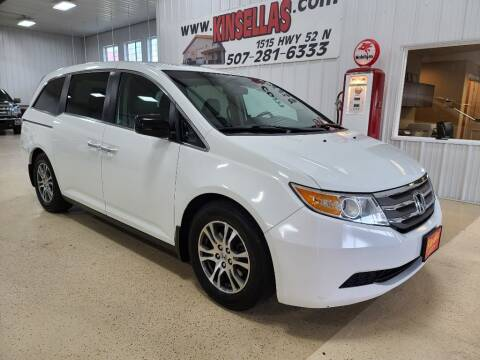 2012 Honda Odyssey for sale at Kinsellas Auto Sales in Rochester MN