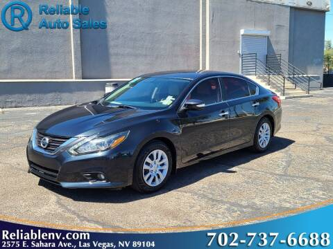 2017 Nissan Altima for sale at Reliable Auto Sales in Las Vegas NV