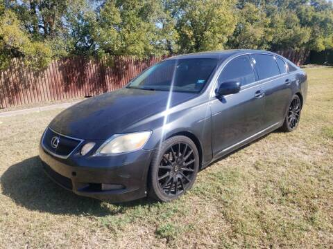 2006 Lexus GS 300 for sale at El Jasho Motors in Grand Prairie TX