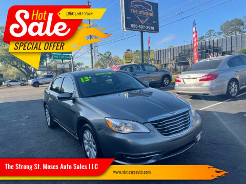 2013 Chrysler 200 for sale at The Strong St. Moses Auto Sales LLC in Tallahassee FL