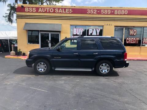 2006 Cadillac Escalade for sale at BSS AUTO SALES INC in Eustis FL