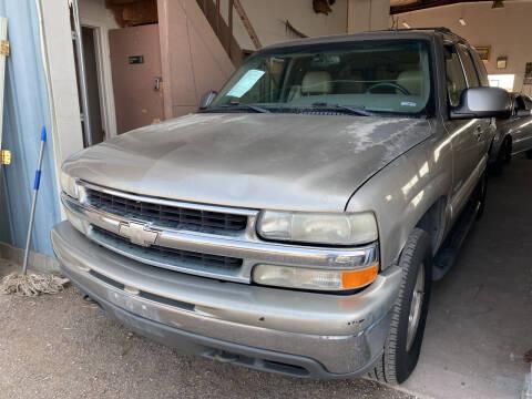 2002 Chevrolet Tahoe for sale at PYRAMID MOTORS - Pueblo Lot in Pueblo CO