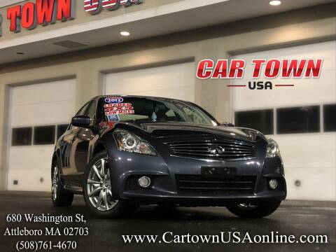 2012 Infiniti G37 Sedan for sale at Car Town USA in Attleboro MA