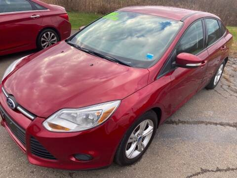 2013 Ford Focus for sale at Hillside Motors in Campbell NY