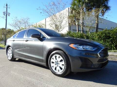 2019 Ford Fusion for sale at SUPER DEAL MOTORS 441 in Hollywood FL