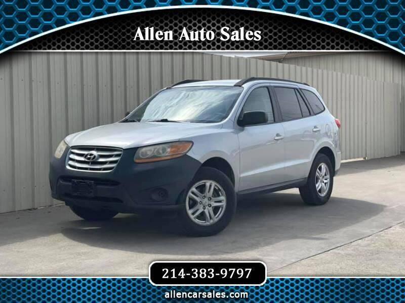 2010 Hyundai Santa Fe for sale at Allen Auto Sales in Dallas TX