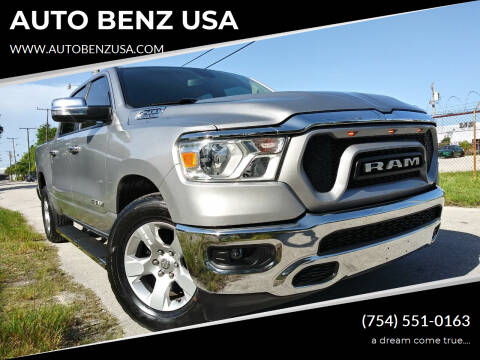 2019 RAM Ram Pickup 1500 for sale at AUTO BENZ USA in Fort Lauderdale FL