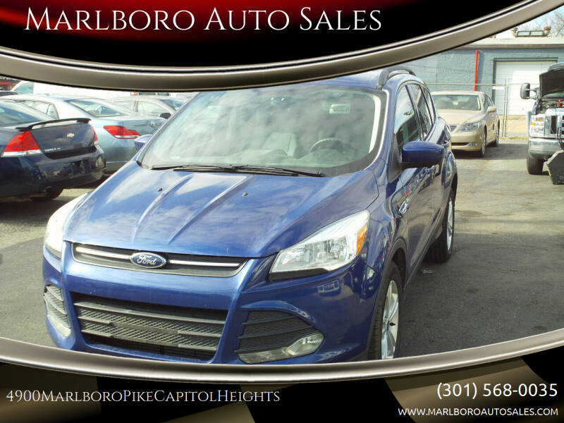 2014 Ford Escape for sale at Marlboro Auto Sales in Capitol Heights MD
