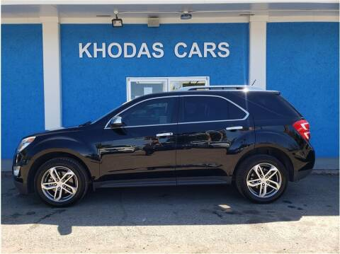2016 Chevrolet Equinox for sale at Khodas Cars in Gilroy CA