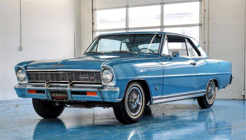 1966 Chevrolet Nova for sale at Mershon's World Of Cars Inc in Springfield OH