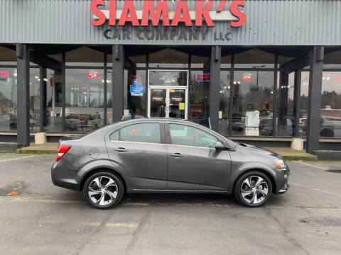 2017 Chevrolet Sonic for sale at Siamak's Car Company llc in Salem OR