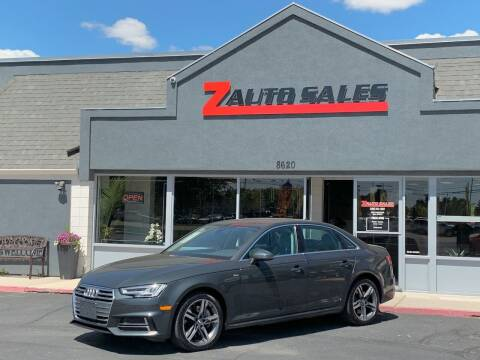 2017 Audi A4 for sale at Z Auto Sales in Boise ID