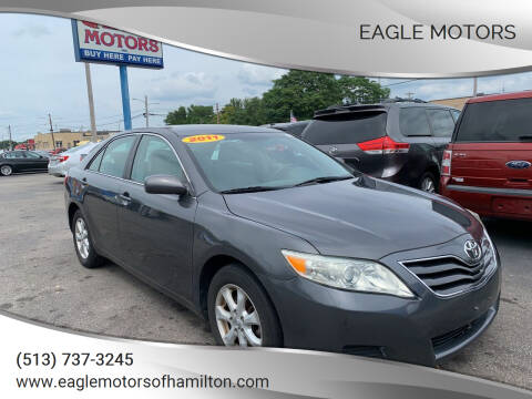 2011 Toyota Camry for sale at Eagle Motors in Hamilton OH