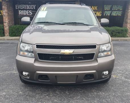 2011 Chevrolet Suburban for sale at East Carolina Auto Exchange in Greenville NC