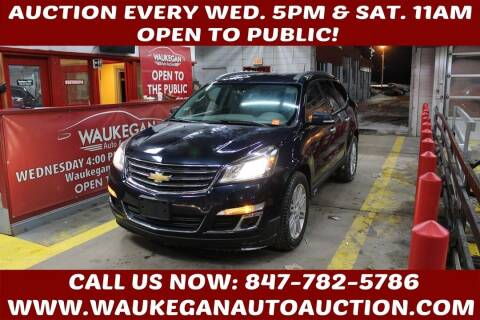 2015 Chevrolet Traverse for sale at Waukegan Auto Auction in Waukegan IL