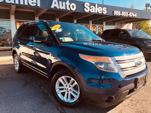 2012 Ford Explorer for sale at Daniel Auto Sales inc in Clinton Township MI