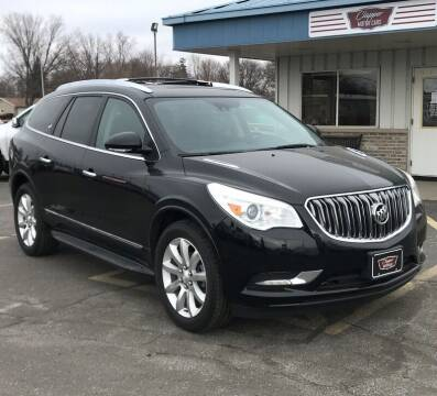 2017 Buick Enclave for sale at Clapper MotorCars in Janesville WI