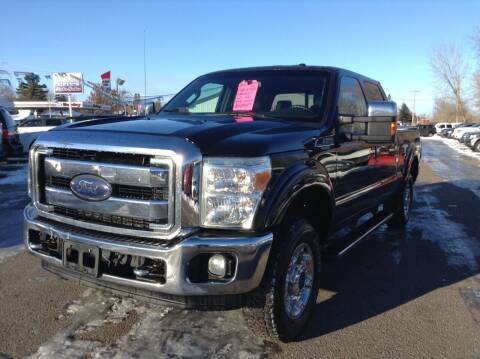 2013 Ford F-250 Super Duty for sale at Steves Auto Sales in Cambridge MN