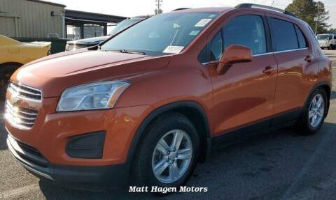 2015 Chevrolet Trax for sale at Matt Hagen Motors in Newport NC
