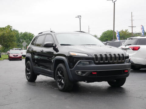 2016 Jeep Cherokee for sale at GRANITE RUN PRE OWNED CAR AND TRUCK OUTLET in Media PA