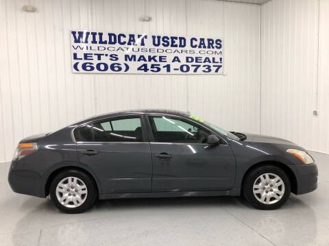 2012 Nissan Altima for sale at Wildcat Used Cars in Somerset KY