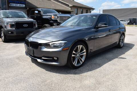 2015 BMW 3 Series for sale at IMD Motors in Richardson TX