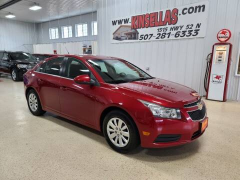 2011 Chevrolet Cruze for sale at Kinsellas Auto Sales in Rochester MN