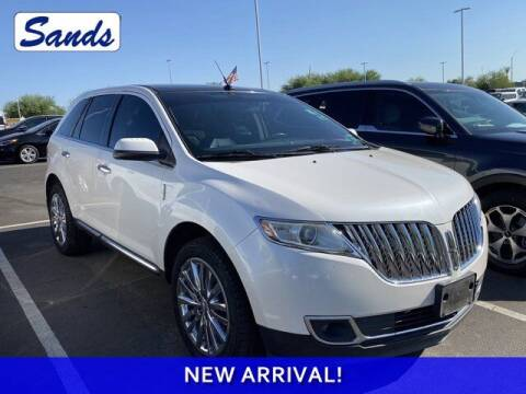2011 Lincoln MKX for sale at Sands Chevrolet in Surprise AZ