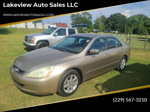 2004 Honda Accord for sale at Lakeview Auto Sales LLC in Sycamore GA