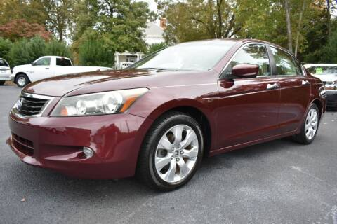 2009 Honda Accord for sale at Apex Car & Truck Sales in Apex NC