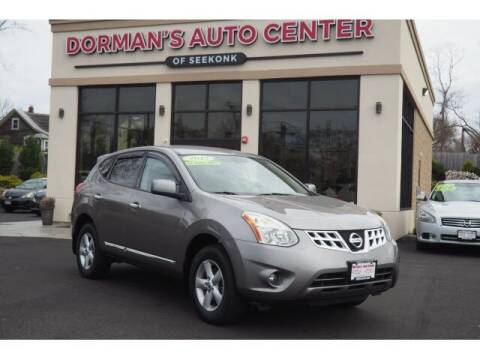 2013 Nissan Rogue for sale at DORMANS AUTO CENTER OF SEEKONK in Seekonk MA