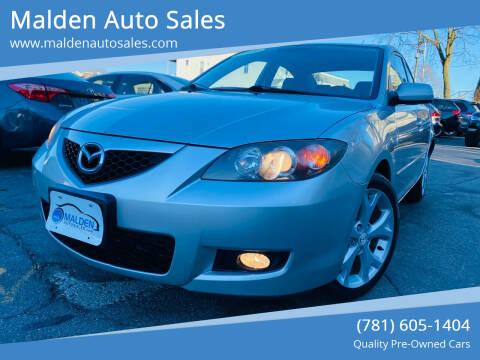 2009 Mazda MAZDA3 for sale at Malden Auto Sales in Malden MA