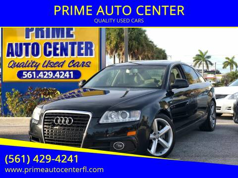 2011 Audi A6 for sale at PRIME AUTO CENTER in Palm Springs FL