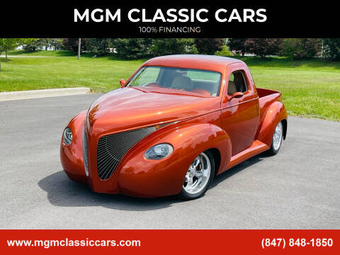 1939 Studebaker Pick up for sale at MGM CLASSIC CARS in Addison IL