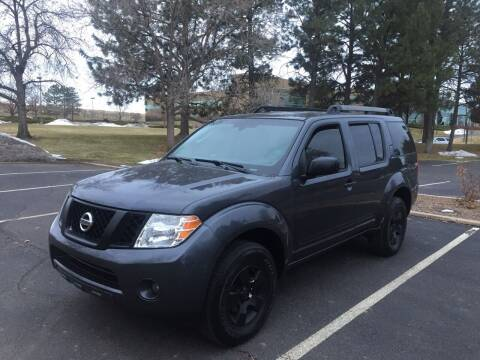 2011 Nissan Pathfinder for sale at QUEST MOTORS in Englewood CO