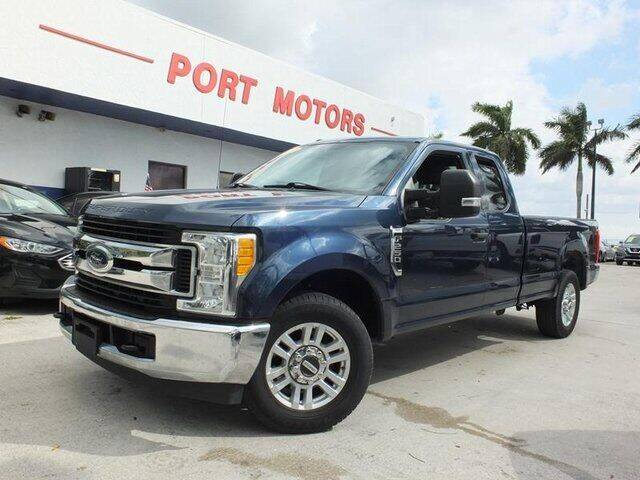 2017 Ford F-250 Super Duty for sale at Automotive Credit Union Services in West Palm Beach FL