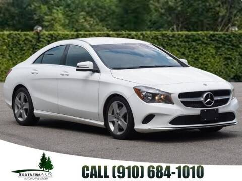 2019 Mercedes-Benz CLA for sale at PHIL SMITH AUTOMOTIVE GROUP - Pinehurst Nissan Kia in Southern Pines NC